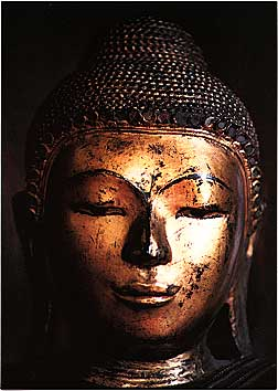 Gold Buddha. Photo © Buddhist Publishing Group